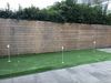 Putting green in de tuin in Purmerend