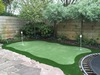 Putting green in de tuin in Haarlem