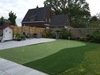 Golf putting green in de tuin van EasyLawn